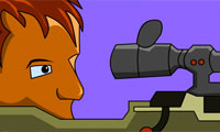 Городской снайпер…