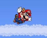 Полет Супер Марио…