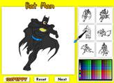 Раскраска: Бэтмен