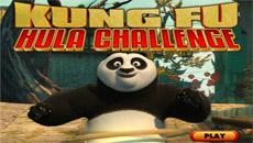 Кунг- Фу панда крутит обруч