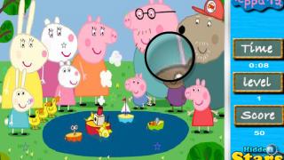 Найди звезды со Свинкой Пеппой…