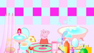 Купание Свинки Пеппы