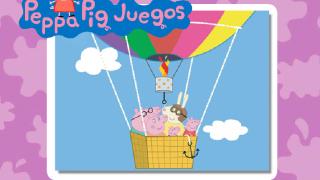 Свинка Пеппа на воздушном шаре…