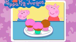 Свинка Пеппа и пирожные