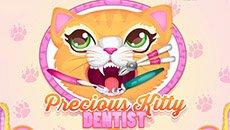 Лечение зубов котеночку