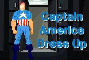 Одевалка для Капитана Америки…