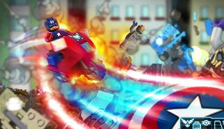 Капитан Америка: Лего гонки…