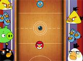 Аэрохоккей Angry Birds