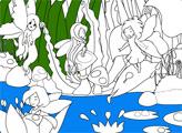 Раскраски: Остров фей