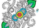 Раскраска: Мандала