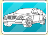 Раскраска: 16 автомобилей