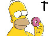 Симпсоны: Пинг-понг с пончиками…