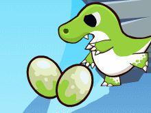 Спасти яйцо динозавра