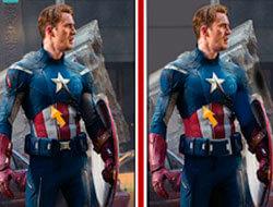 Капитан Америка: Найди отличия…