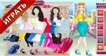 Барби стюардесса