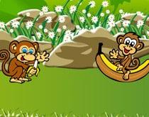 Покорми обезьян