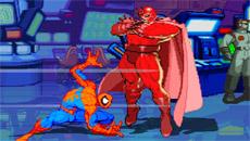 Драки супер героев