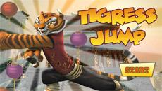 Кунг- Фу панда: Прыжки Тигрицы…