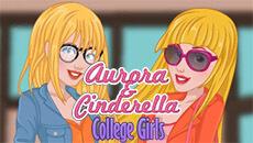 Аврора и Золушка идут в школу…
