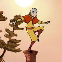Аватар держит равновесие