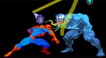 Драка Человека-паука