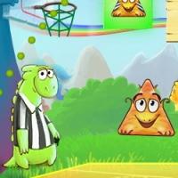 Дино баскетбол