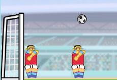 Футбол с неваляшками
