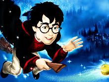 Гарри Поттер : Раскраска