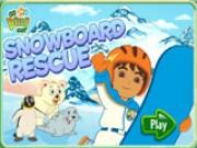 Сноубордист Диего