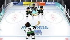 Хоккей: попади в ворота