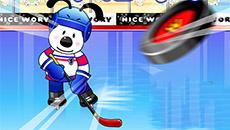 Хоккей: попади в ворота 2