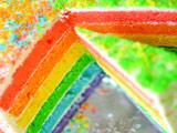 Торт радуги