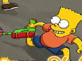 Симпсоны: Стрельба водным пистолетом…