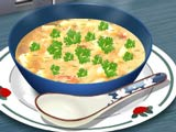 Готовим картофельный суп с Сарой…