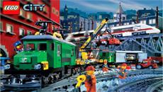 Lego: поезд-змейка
