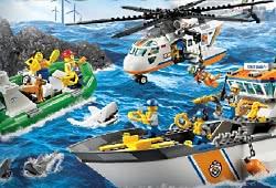 Спасатели из мира Лего