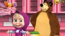 Маша и Медведь: Приготовь печеньку
