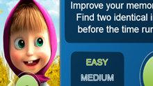Маша и Медведь: Тренируй память…