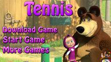 Маша и Медведь: Теннис