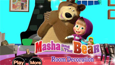 Маша и Медведь: Украшаем комнату…