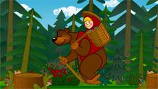 Маша и Медведь: Учимся считать…