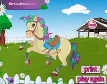 Одевание лошадей
