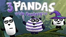 Три панды в фэнтези мире