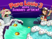Папа Луи: атаки мороженого 3…