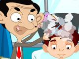 Мистер Бин в парикмахерской…
