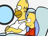 Побега Барта Симпсона с острова…