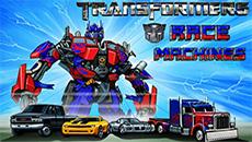 Трансформеры: гонки машин…