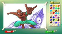 Spider-man: раскраска