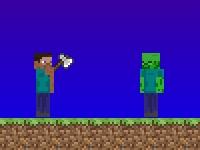 Собственная сцена Minecraft