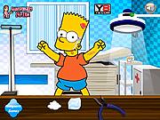 Барт Симпсон у врача